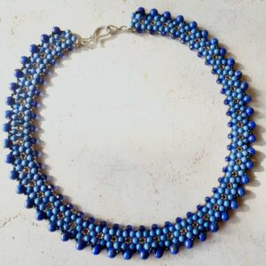 Five Elements Lapis Necklace